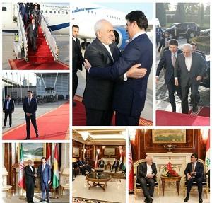 ظریف: روابط ایران با عراق و اقلیم کردستان ممتاز و سازنده است