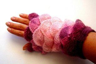 جدیدترین مدل دستکش بافتنی (عکس)