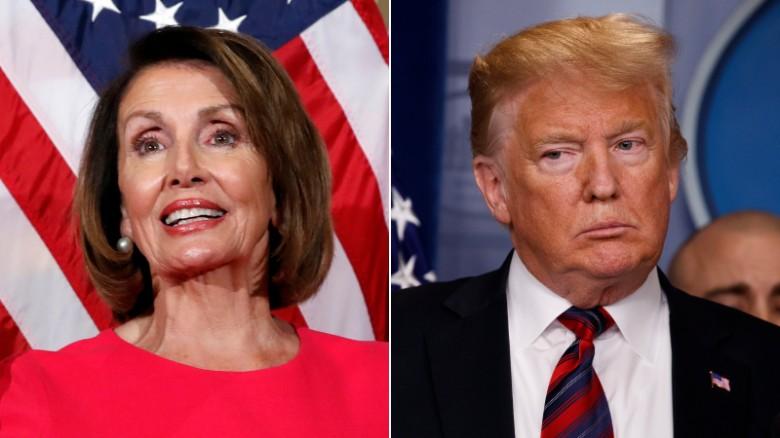 پیشنهاد رییس دموکرات محلس آمریکا به ترامپ: برای سخنرانی سالانه به کنگره نیا از کاخ سفید سخنرانی کن