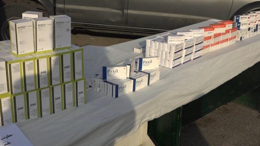 کشف محموله داروی قاچاق 5 میلیارد تومانی در تهران/ داروهای کمیاب در فهرست کشفیات (+عکس)
