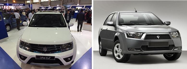 ایران خودرو قیمت جدید 2 خودروی دنا و سوزوکی گراند ویتارا را اعلام کرد (+جزئیات)