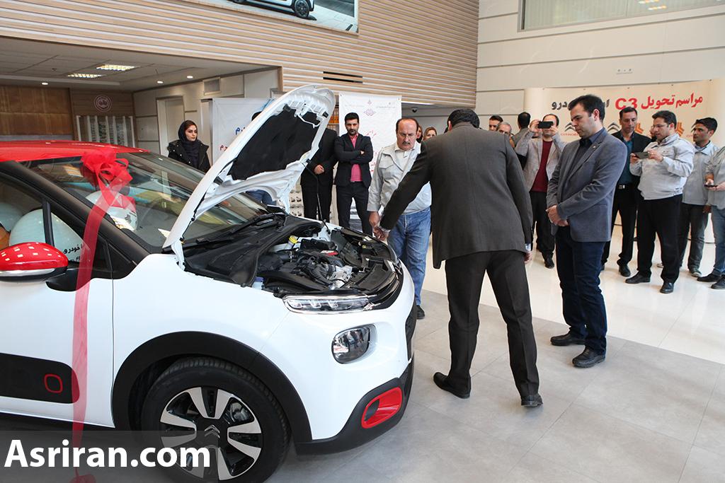 تحویل اولین سری از خودروهای سیتروئن c۳ توسط سایپا / معاون فروش سایپا-سیتروئن: تمامی تعهدات تحویل خریداران می شود (+عکس)