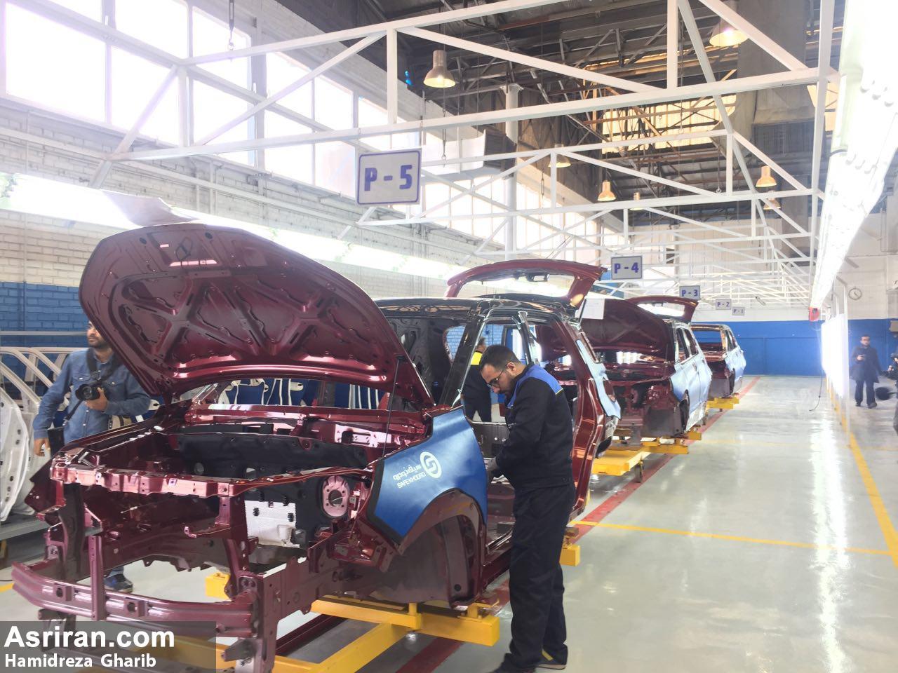 تولید خودرو شاسی بلند بیسو در ایران آغاز شد (+عکس)