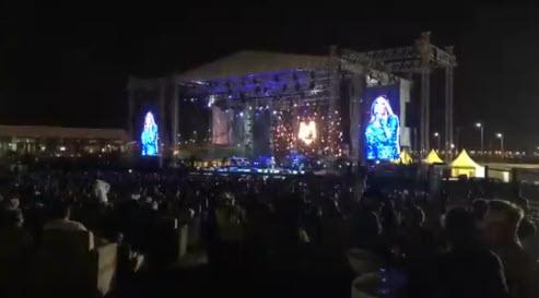 برگزاری اولین کنسرت خواننده زن آمریکایی در عربستان (+عکس)