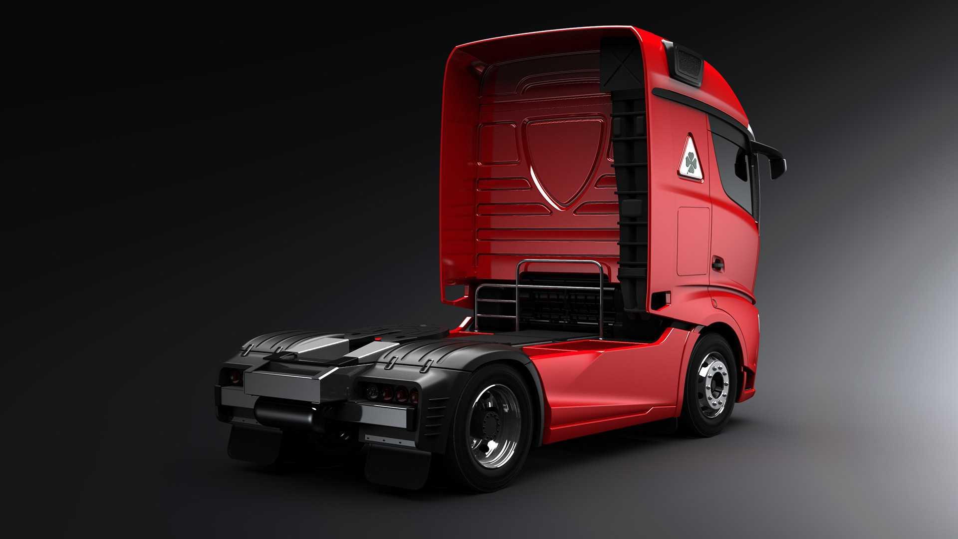 کامیون احتمالی آلفا رومئو/ زیبای بخش خودروهای تجاری