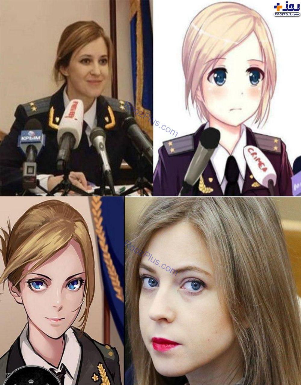 مجبوب ترین رئیس پلیس زن جهان (عکس)