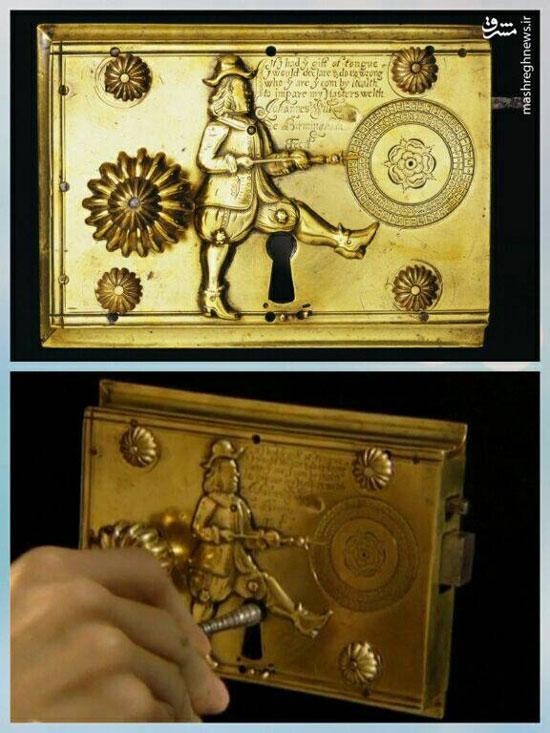 قدیمیترین قفل جهان در موزه ویکتوریا در لندن (عکس)