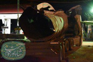 خرم آباد؛ تیراندازی و انفجار یک تانکر سوخت/ شهادت یک سرباز