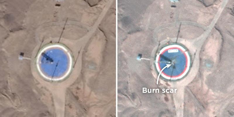 مرکز آمریکایی: پرتاب ماهواره ایرانی دوباره ناکام ماند(+عکس)