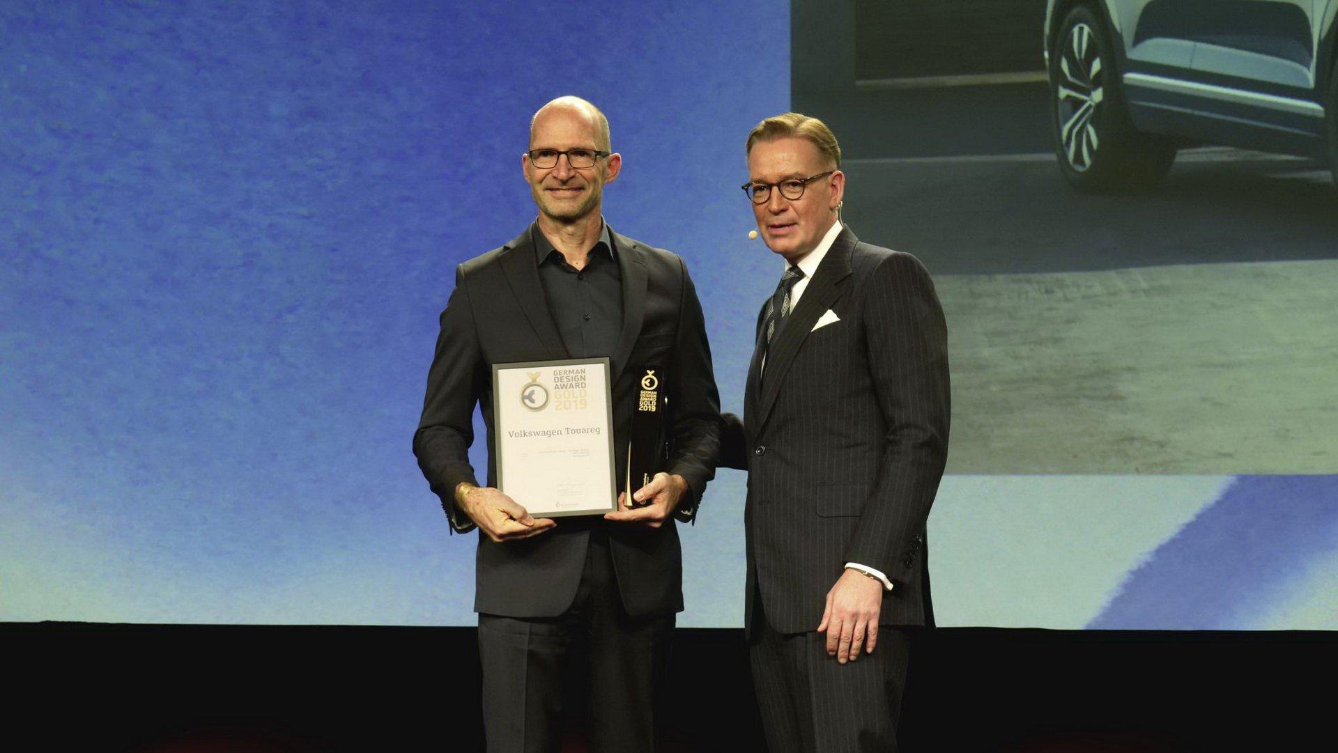 توارگ فولکس واگن، برنده جایزه طراحی سال آلمان