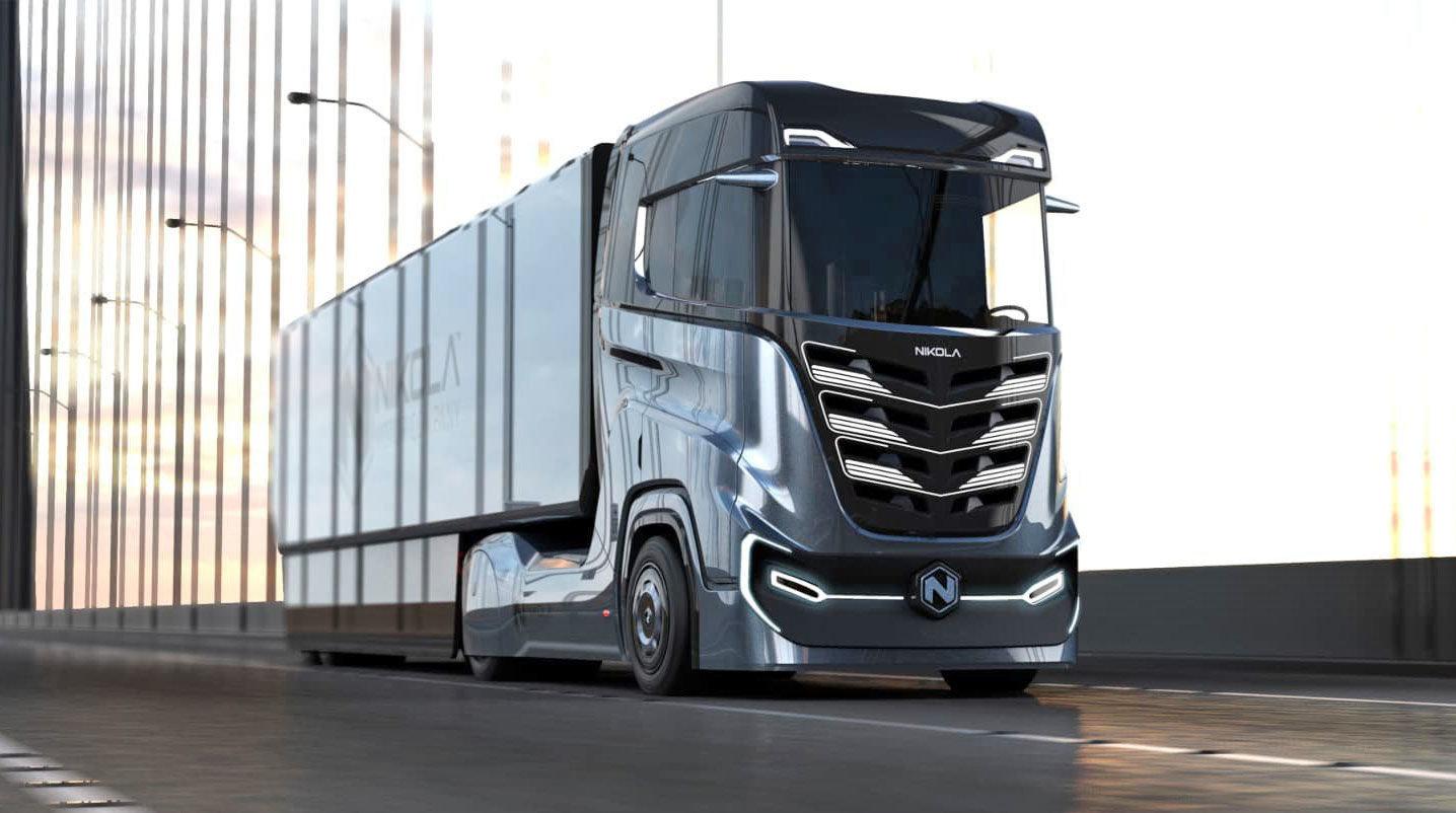 کامیونهای پاک نیکولا در راه ورود به جادههای جهان