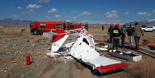 2 کشته در سقوط هواپیمای فوق سبک در خراسان رضوی