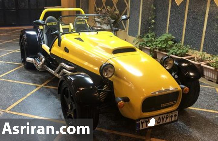 خودروی عجیب 1.2 میلیارد تومانی در تهران (+عکس)