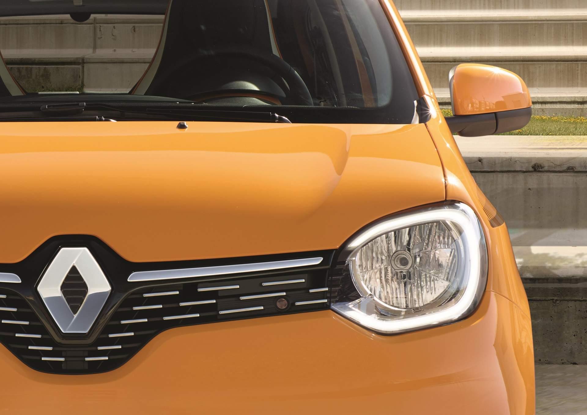 تغییرات خودرو شهری توئینگو رنو
