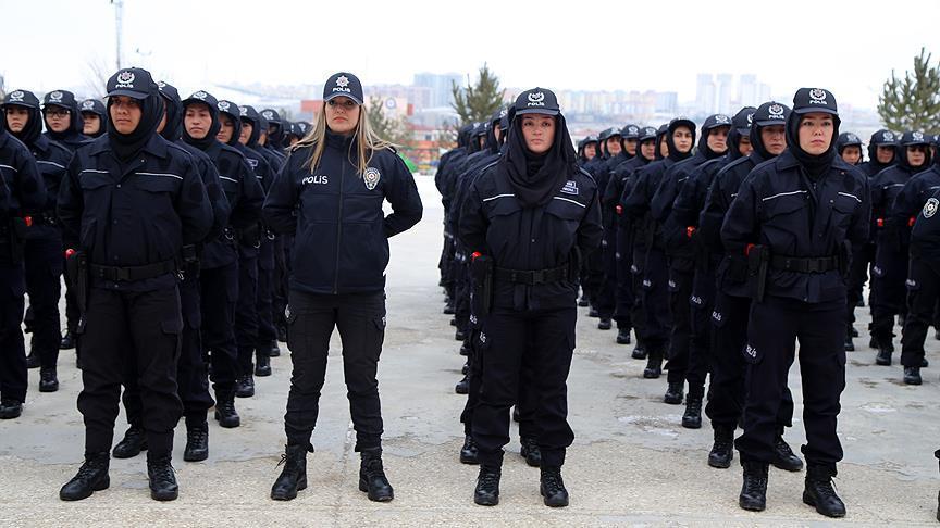 آموزش 168 پلیس زن افغانستانی در  ترکیه (+عکس)