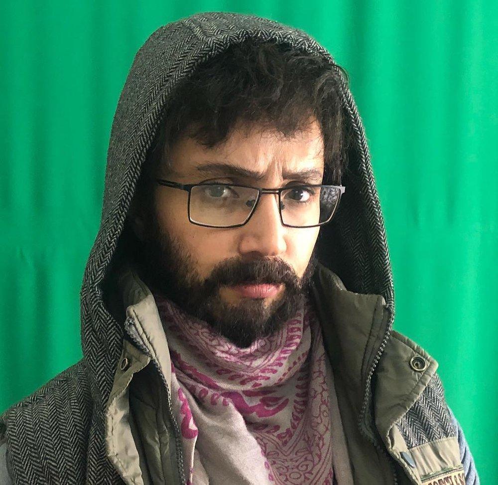 شبنم قلیخانی با ریش و سبیل مردانه (+عکس)