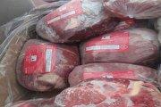 هجوم مردم برای خرید گوشت یخ زده در شیراز (فیلم)