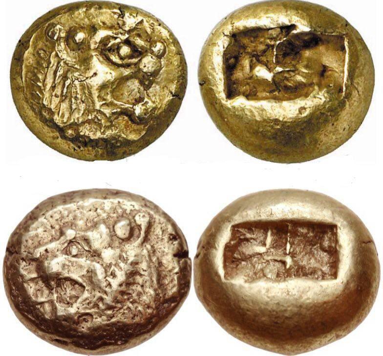 اولین سکه تاریخ (عکس)