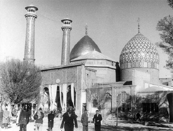 حرم شاهعبدالعظیم، 75 سال قبل (عکس)