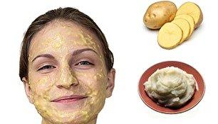 زیبایی پوست با چند ماسک سیب زمینی