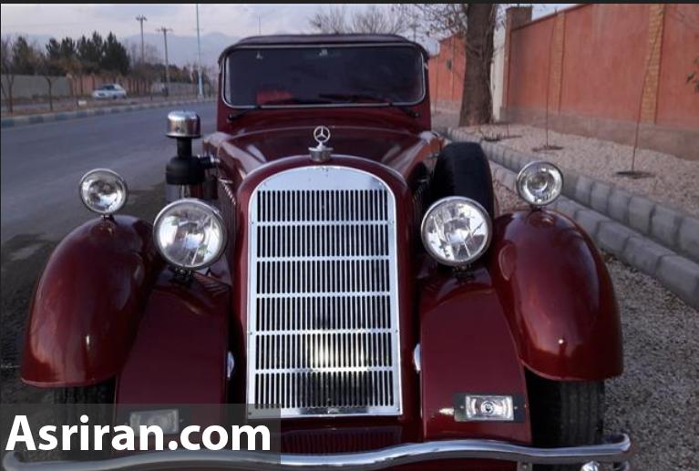 ساخت خودروهای کلاسیک بنز توسط هنرمندان اصفهانی /  ساخت 2  مدل بنز و 1 بوگاتی در دستور کار (+عکس)