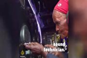 مادربزرگ ۸۰ سالهای که متخصص ضبط و باند است (فیلم)