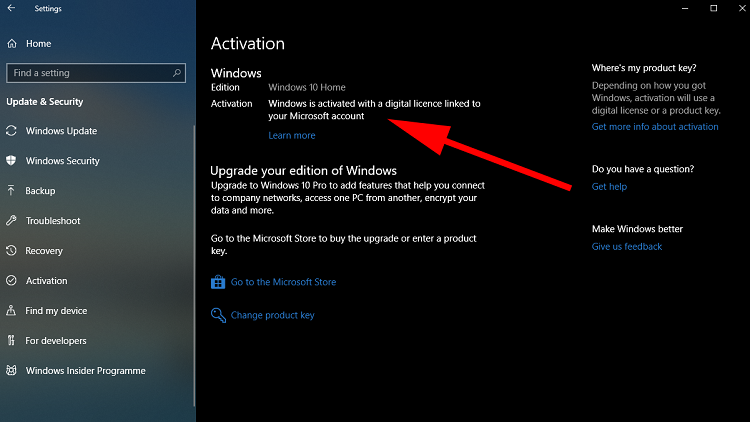 """كيف تجد رقم Windows التسلسلي أو """"مفتاح المنتج""""؟"""
