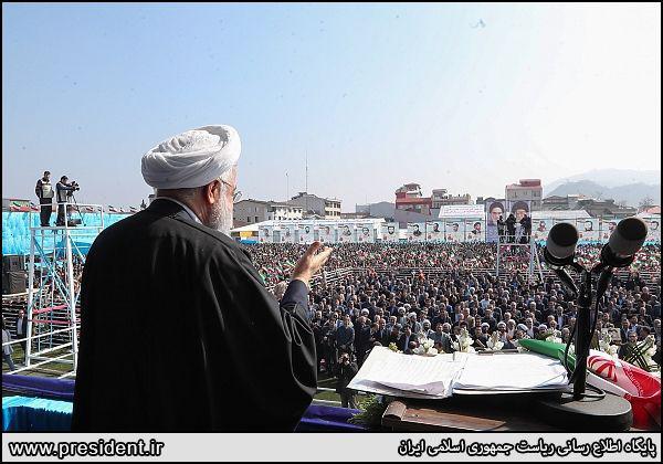 روحانی: در دوران جنگ اقتصادی و روانی به سر میبریم/ آمریکا میگوید به 40 سال پیش بازگردید
