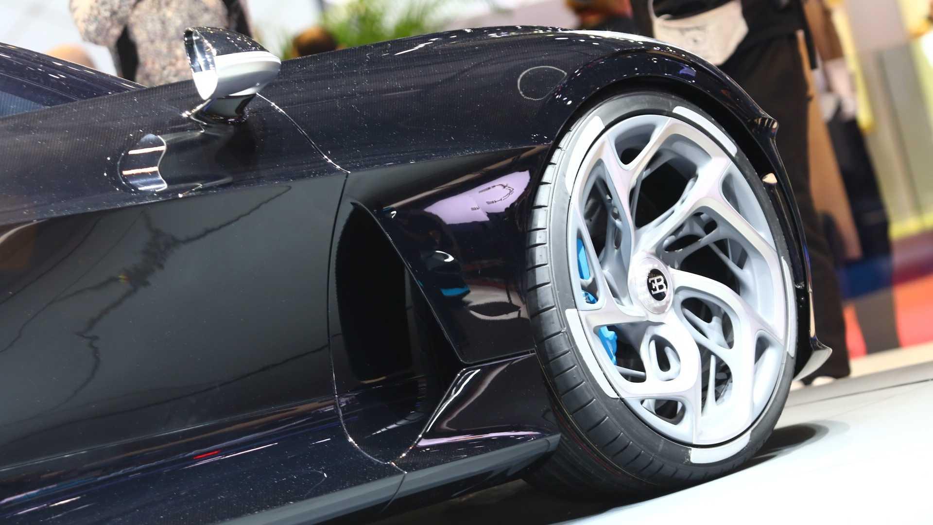 گرانترین خودروی حاضر جهان/ بوگاتی La Voiture Noire