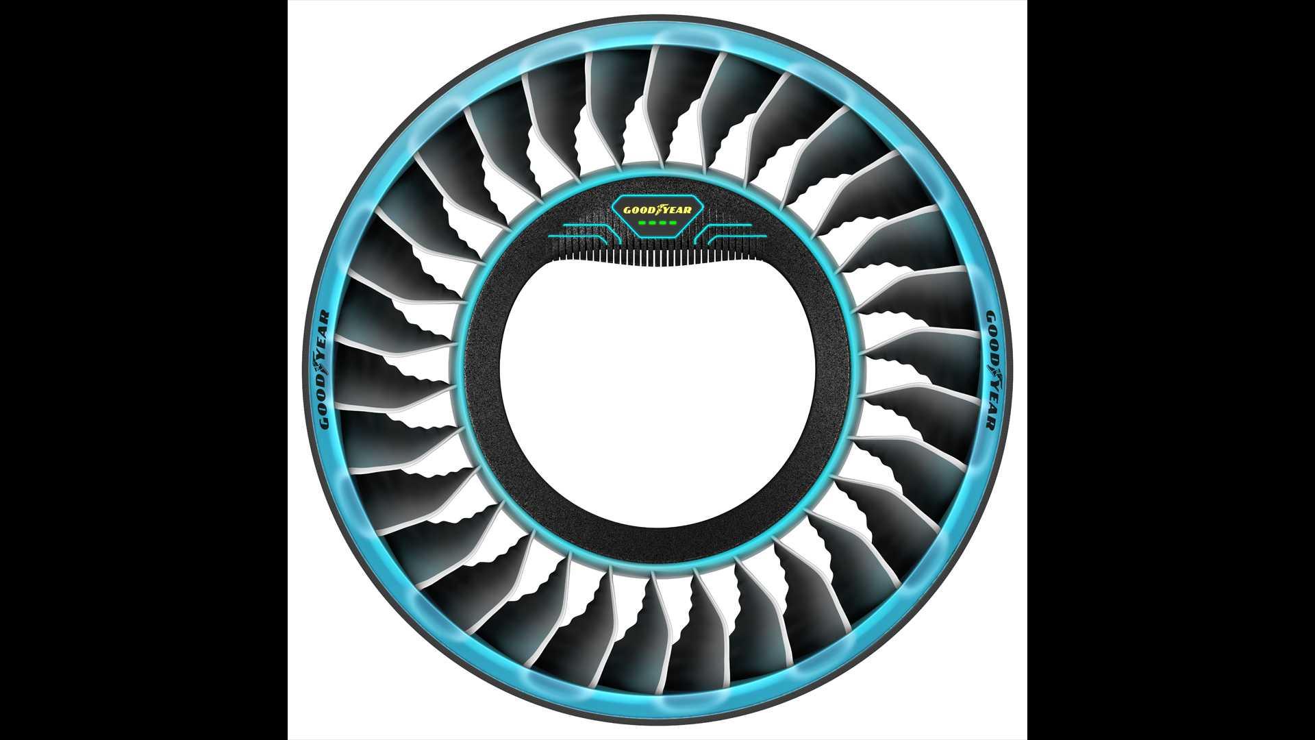 گوودیر ایرو، تایرهای پروازی آینده در نمایشگاه ژنو
