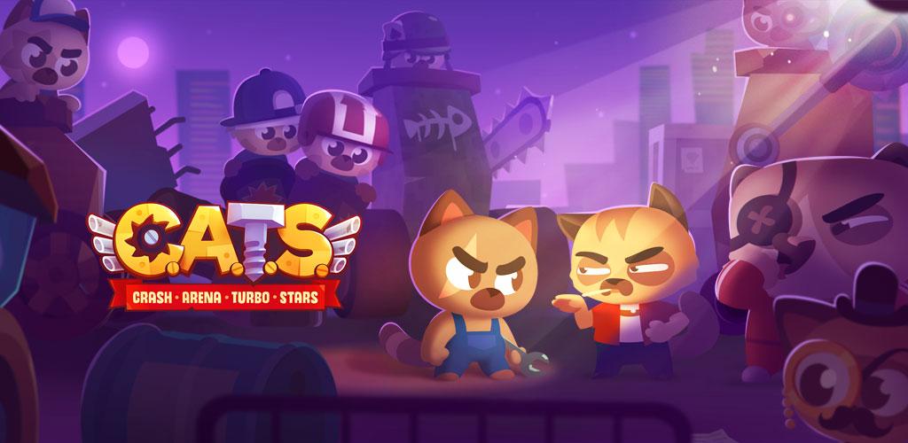 دانلود بازی CATS Crash Arena Turbo Stars اندروید