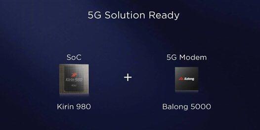 هوآوی فاتح قله 5G