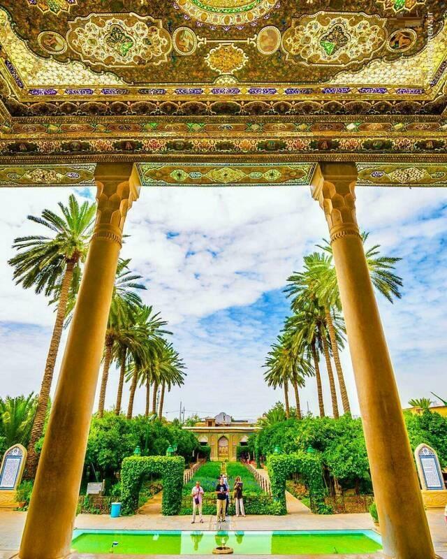 باغی دیدنی در شیراز (عکس)