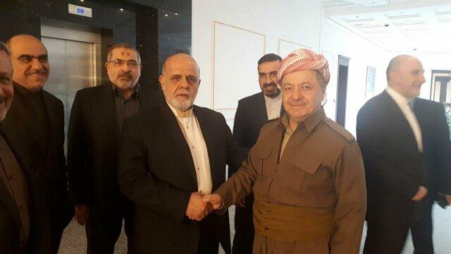 سفیر ایران در عراق: روابط ایران با اقلیم کردستان راهبردی است