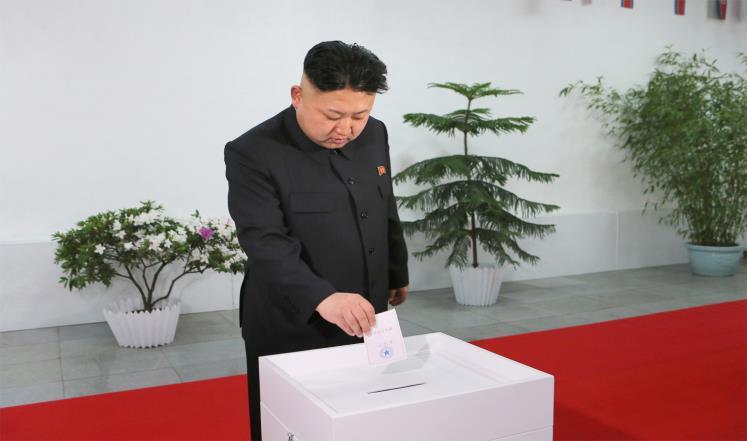 انتخابات به سبک کره شمالی / بدون رقابت و با مشارکت 99.97 درصدی
