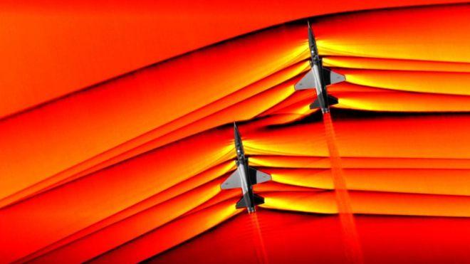 لحظهای تاریخی در صنعت هوانوردی؛ ناسا برای نخستین بار از امواج مافوق صوت عکس گرفت