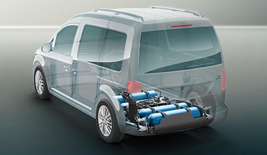 افزایش سهم گاز در سبد مصرف سوخت حمل و نقل فولکسواگن