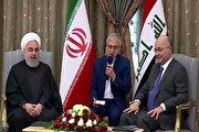 بازتاب سفر روحانی به عراق در رسانه های خارجی (فیلم)