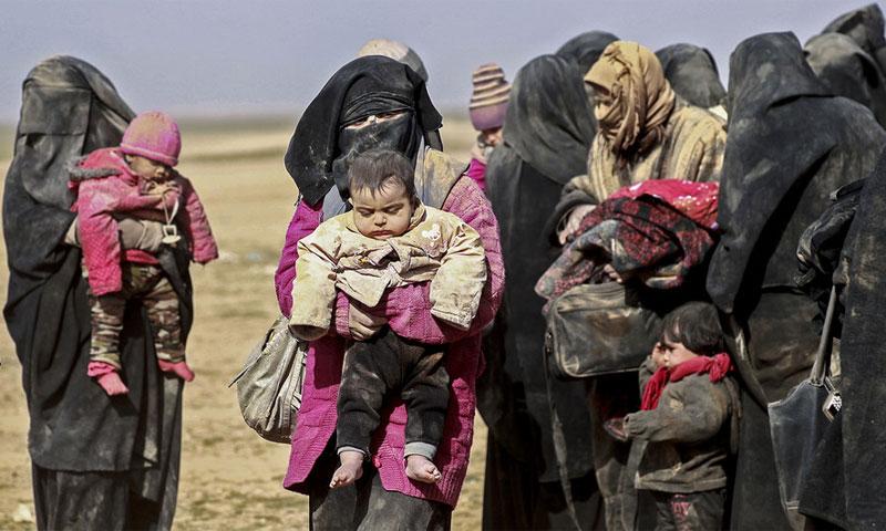 درگیری زنان داعش با کردهای سوریه