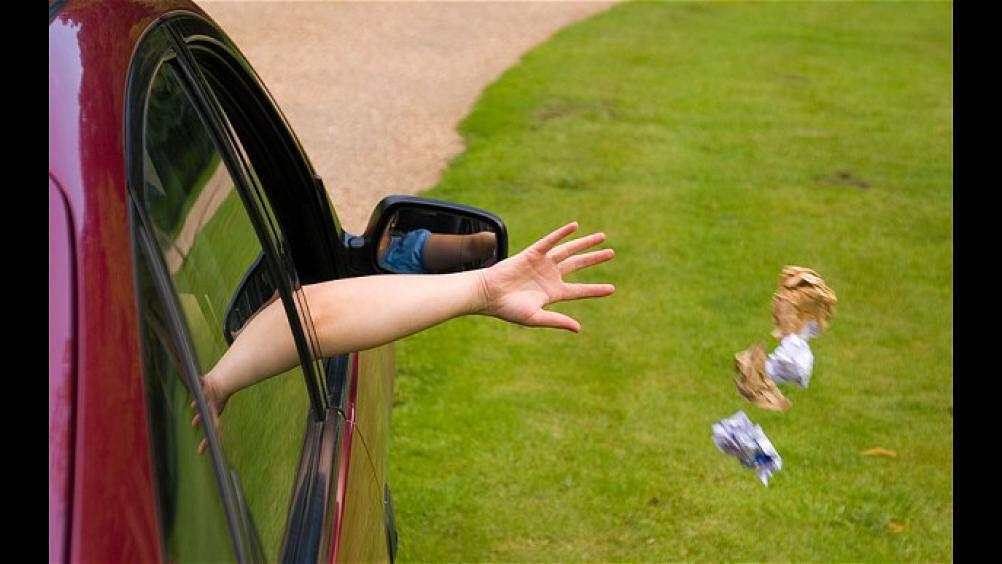 با افرادی که زباله خود را از ماشین بیرون میاندازند چطور برخورد کنیم