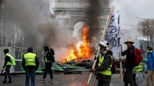 تظاهرات «جلیقه زردها» ممنوع شد