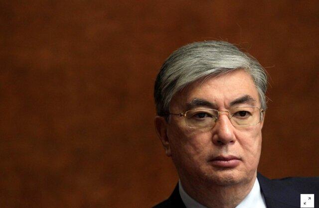 ادای سوگند رئیس مجلس سنای قزاقستان به عنوان رئیس جمهور موقت