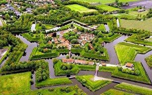 دهکده ستاره ای شکل در هلند (+عکس)