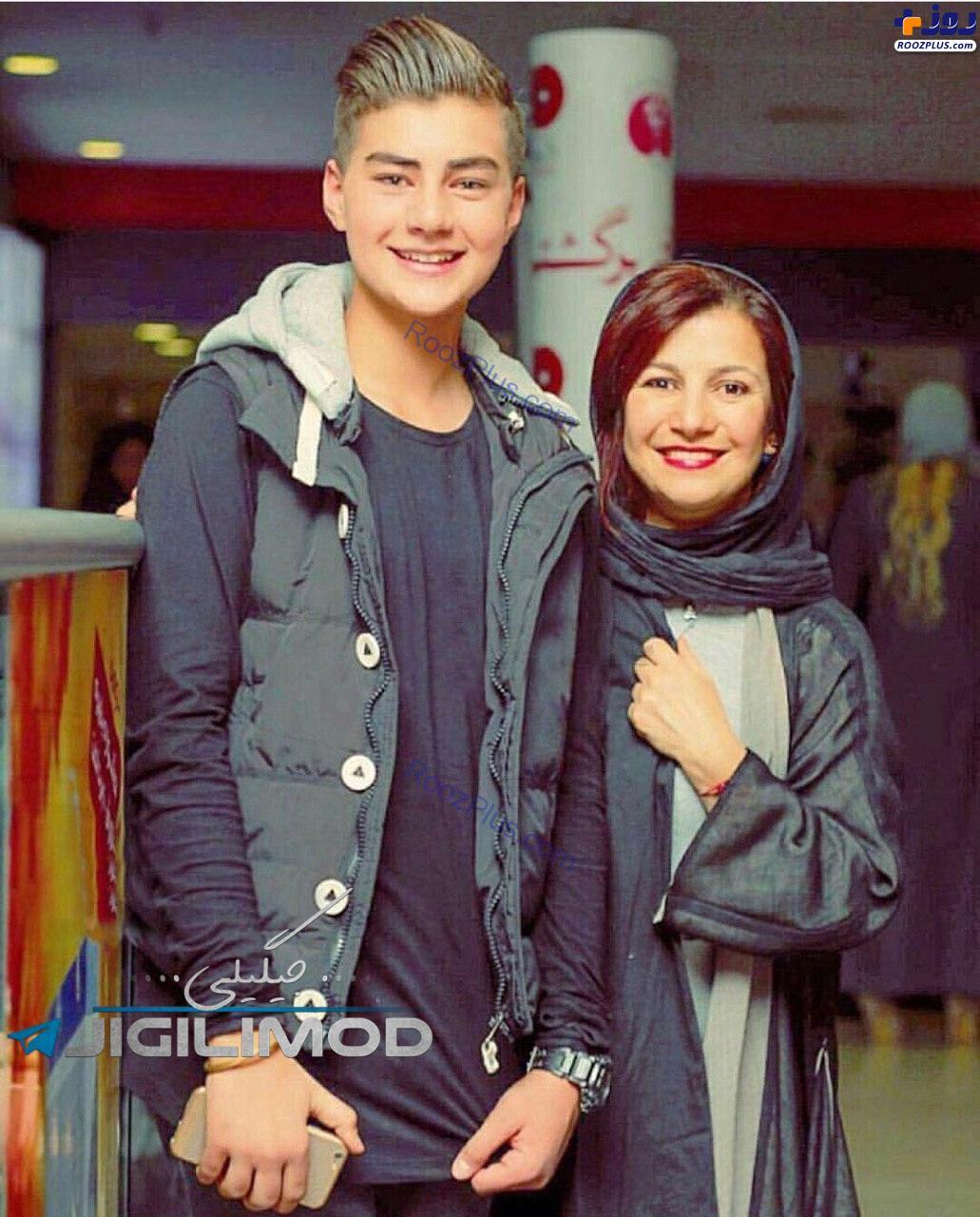 لیلی رشیدی و پسرش (عکس)