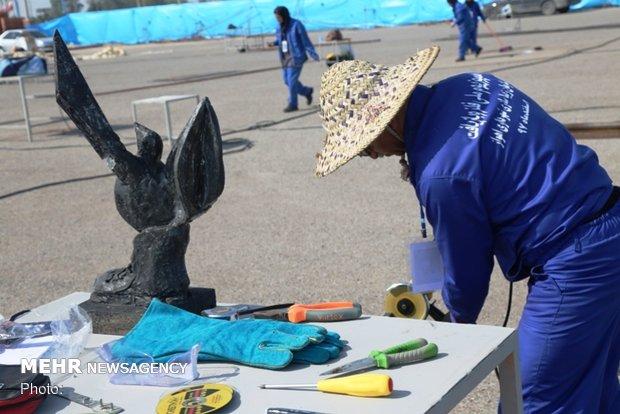 ساخت پارکی برای مجسمههای اهواز/ حمایت و انگیزه برای مجسمه سازان