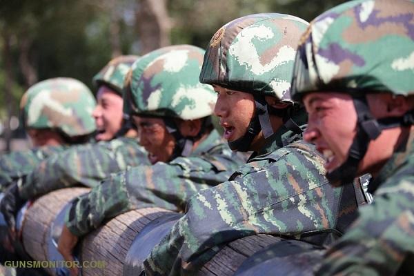 نیروهای ویژه ارتش چین(+تصاویر)