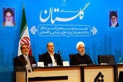 افتتاح طرح های شورابه ید و صنایع غذایی عالیا گلستان