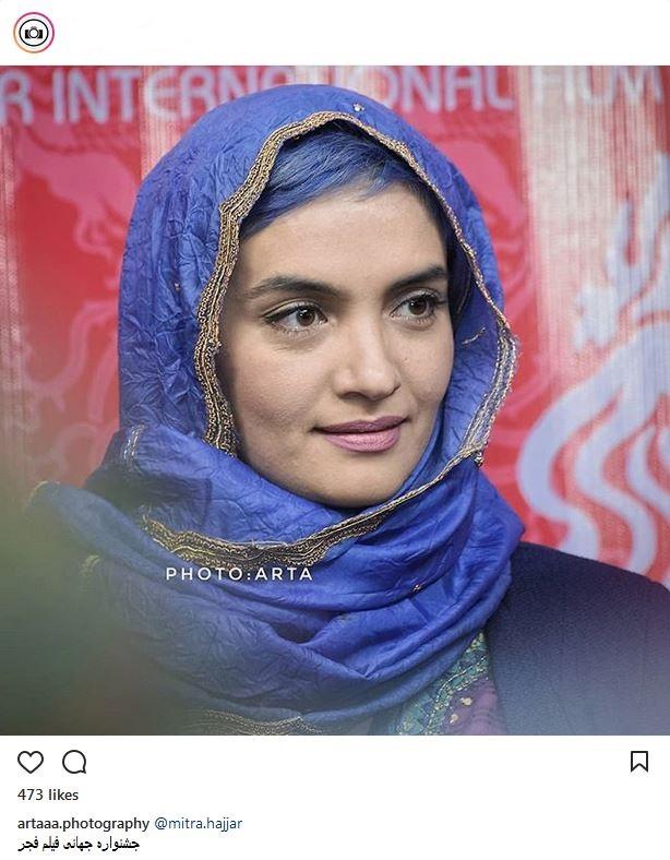 میترا حجار در جشنواره جهانی فیلم فجر (عکس)