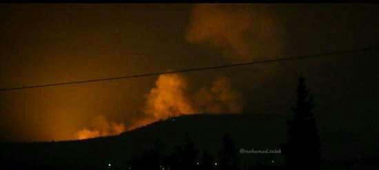 شهادت 18 ایرانی در حمله موشکی به حومه حماه و حلب در سوریه