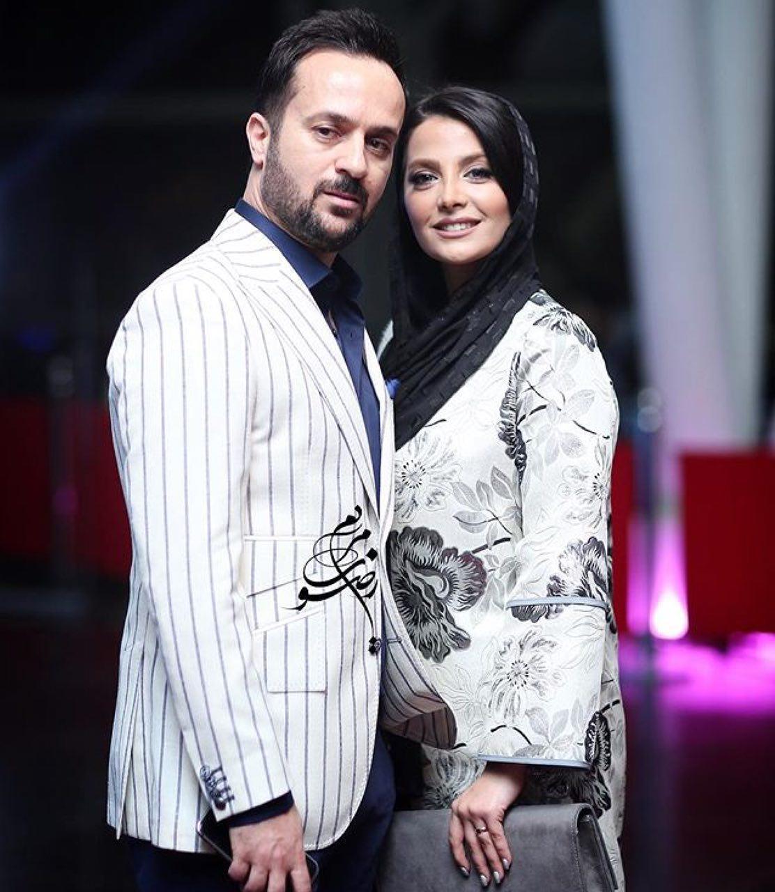 احمد مهرانفر و همسرش (عکس)